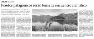 Noticia en diario El Sur