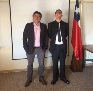 Fabricio Frias y Sergio Contreras