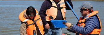 Proyecto busca identificar contaminantes en río Andalién